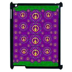 Peace Be With Us In Love And Understanding Apple Ipad 2 Case (black)