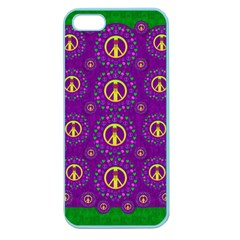 Peace Be With Us In Love And Understanding Apple Seamless Iphone 5 Case (color)