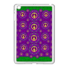 Peace Be With Us In Love And Understanding Apple Ipad Mini Case (white)