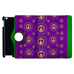 Peace Be With Us In Love And Understanding Apple Ipad 2 Flip 360 Case