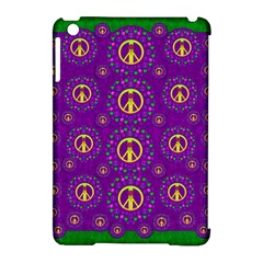 Peace Be With Us In Love And Understanding Apple Ipad Mini Hardshell Case (compatible With Smart Cover)