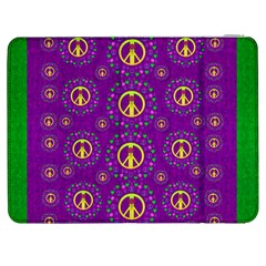 Peace Be With Us In Love And Understanding Samsung Galaxy Tab 7  P1000 Flip Case