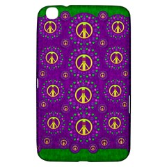 Peace Be With Us In Love And Understanding Samsung Galaxy Tab 3 (8 ) T3100 Hardshell Case