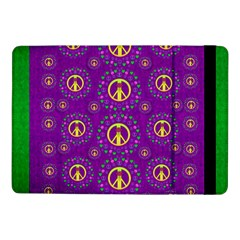 Peace Be With Us In Love And Understanding Samsung Galaxy Tab Pro 10 1  Flip Case
