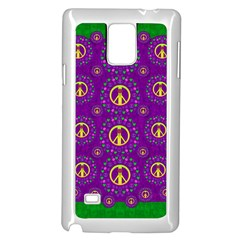 Peace Be With Us In Love And Understanding Samsung Galaxy Note 4 Case (white)