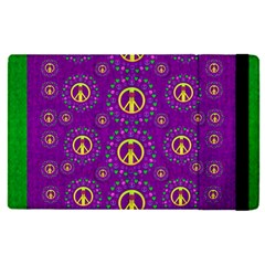 Peace Be With Us In Love And Understanding Apple Ipad Pro 9 7   Flip Case