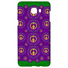 Peace Be With Us In Love And Understanding Samsung C9 Pro Hardshell Case
