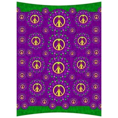 Peace Be With Us In Love And Understanding Back Support Cushion