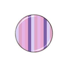 Violet Stars Hat Clip Ball Marker (10 Pack)