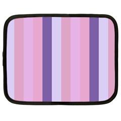 Violet Stars Netbook Case (xxl)