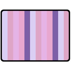 Violet Stars Fleece Blanket (large)