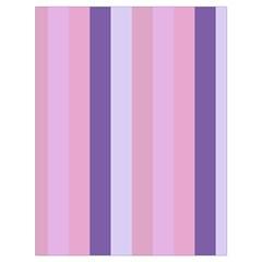 Violet Stars Drawstring Bag (large)