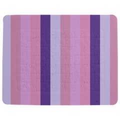Violet Stars Jigsaw Puzzle Photo Stand (rectangular)