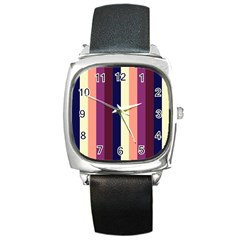 Sisters Square Metal Watch