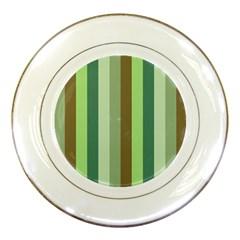 Pistachio Ice Cream Porcelain Plates