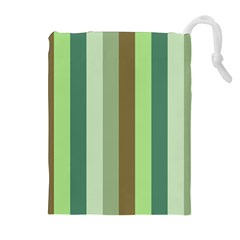 Pistachio Ice Cream Drawstring Pouches (extra Large)