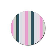 Olivia Rubber Round Coaster (4 Pack)