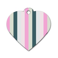 Olivia Dog Tag Heart (two Sides)
