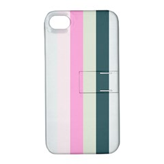 Olivia Apple Iphone 4/4s Hardshell Case With Stand