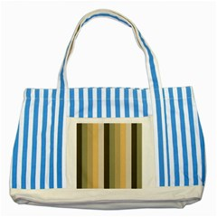 From Pigeon To Dove Striped Blue Tote Bag