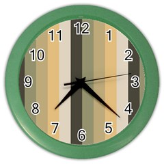 From Pigeon To Dove Color Wall Clocks
