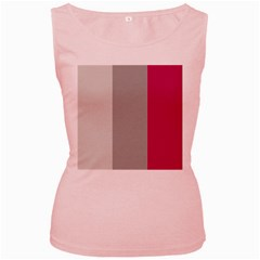 Laura Lines Women s Pink Tank Top