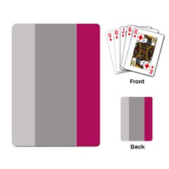 Laura Lines Playing Card