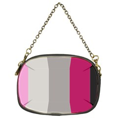 Laura Lines Chain Purses (one Side)
