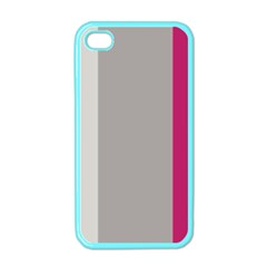 Laura Lines Apple Iphone 4 Case (color)