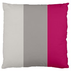 Laura Lines Large Cushion Case (one Side)
