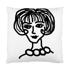20s Girl Standard Cushion Case (two Sides)