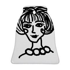 20s Girl Ornament (bell)