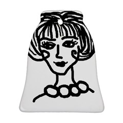 20s Girl Bell Ornament (two Sides)