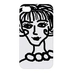 20s Girl Apple Iphone 4/4s Hardshell Case