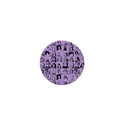 Lilac Yearbok 1  Mini Buttons