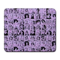 Lilac Yearbok Large Mousepads
