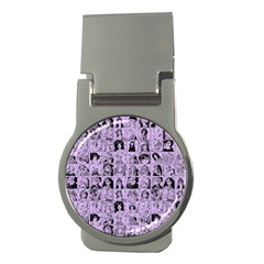 Lilac Yearbok Money Clips (round)