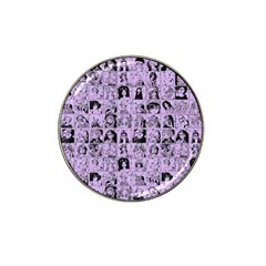Lilac Yearbok Hat Clip Ball Marker (10 Pack)