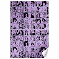Lilac Yearbok Canvas 24  X 36