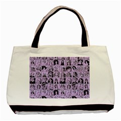 Lilac Yearbok Basic Tote Bag (two Sides)