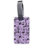 Lilac Yearbok Luggage Tags (Two Sides) Back