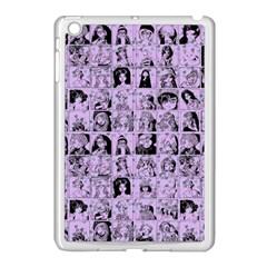 Lilac Yearbok Apple Ipad Mini Case (white)