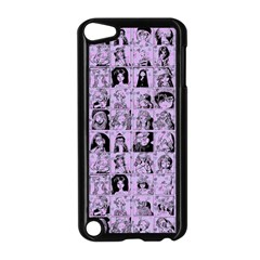 Lilac Yearbok Apple Ipod Touch 5 Case (black)
