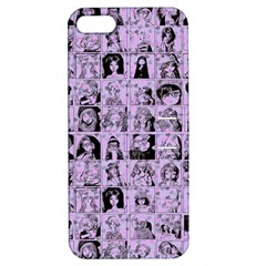 Lilac Yearbok Apple Iphone 5 Hardshell Case With Stand