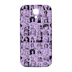 Lilac Yearbok Samsung Galaxy S4 I9500/i9505  Hardshell Back Case