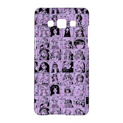 Lilac Yearbok Samsung Galaxy A5 Hardshell Case
