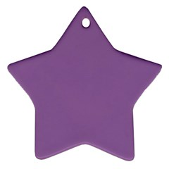 Another Purple Ornament (star)