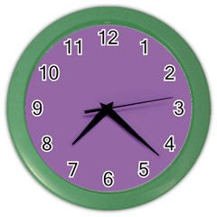 Another Purple Color Wall Clocks