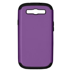 Another Purple Samsung Galaxy S Iii Hardshell Case (pc+silicone)