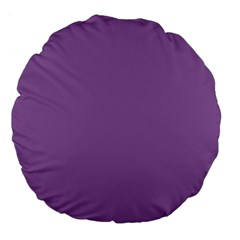 Another Purple Large 18  Premium Round Cushions